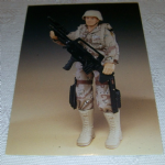1994 GI Joe 30th Salute #79 Hall of the fame Duke Trading card